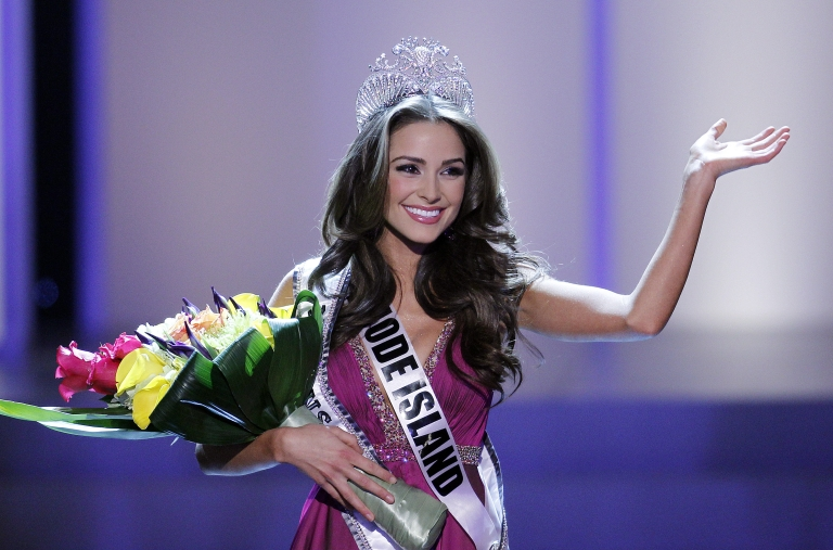 <p>LAS VEGAS - JUNE 3:  Olivia Culpo took home the crown during the 2012 Miss USA pageant at the Planet Hollywood Resort &amp; Casino on June 3, 2012 in Las Vegas, Nevada.</p>