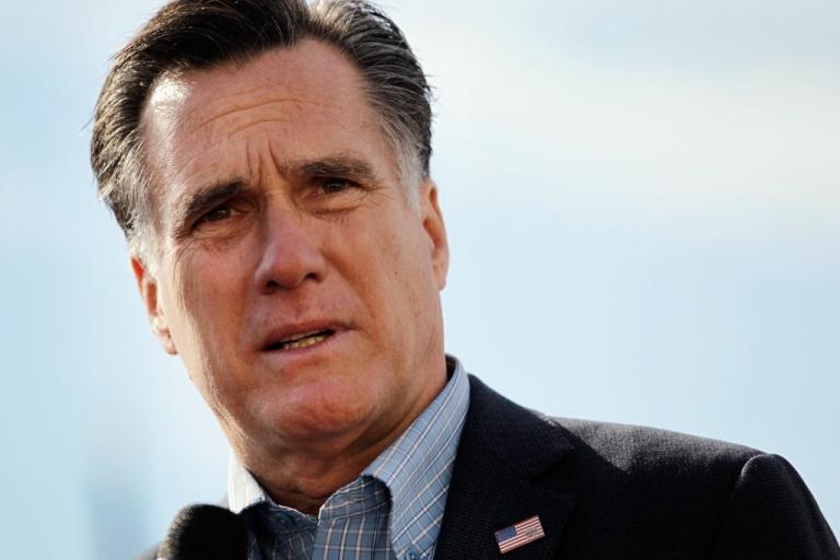 <p>Mitt Romney speaks to supporters on Jan. 19, 2012 in Charleston, South Carolina.</p>