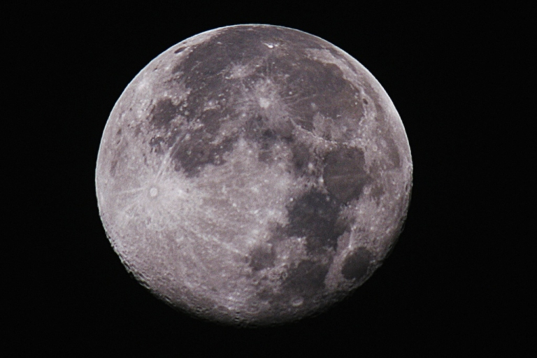 <p>A new study has shown that the moon may be less dry than once thought.</p>