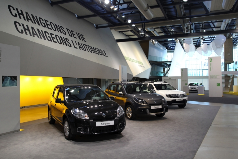 <p>French car maker Renault has opened a factory in Morocco, the largest in North Africa.</p>