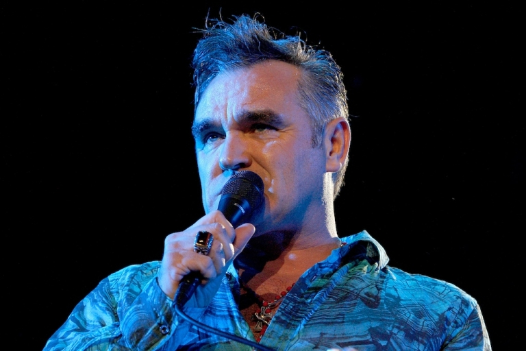 <p>Singer Morrissey performs during day one of the Coachella Valley Music &amp; Arts Festival 2009 held at the Empire Polo Club on April 17, 2009 in Indio, California.</p>