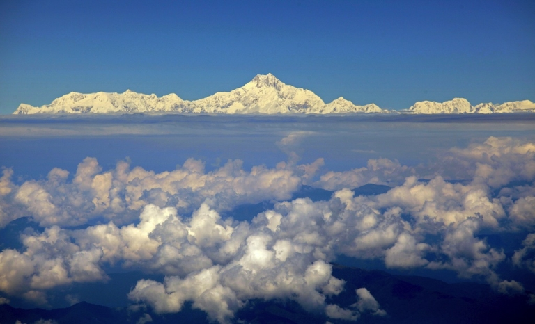 <p>The real Mt Everest.</p>