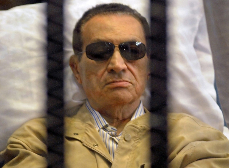 <p>Ousted Egyptian president Hosni Mubarak has reportedly had a stroke on June 19, 2012 and remains in critical condition.</p>
