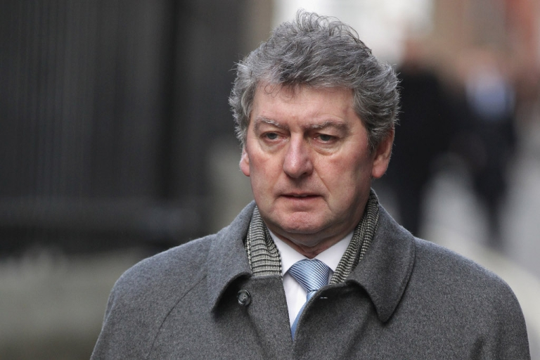<p>Colin Myler last month on his way into the Leveson Inquiry into press ethics in Britain, set up in the wake of the phone-hacking scandal.  Myler was the last editor of the now defunct News of the World</p>
