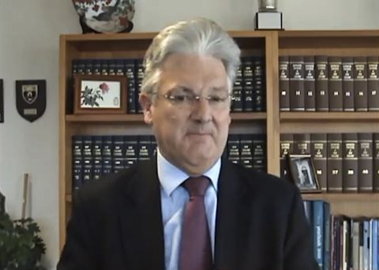 <p>In a YouTube video, New Zealand minister Peter Dunne defended his