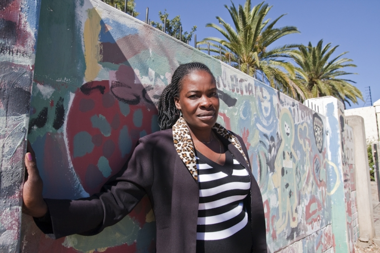 <p>Hilma Nendongo, a villager from northern Namibia, says she was sterilized without her knowledge while undergoing a Caesarian section. She is pictured here in 2009 in Windhoek, Namibia's capital.</p>