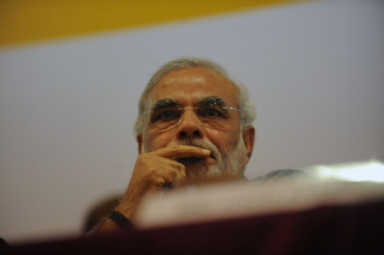 <p>Narendra Modi, head of the BJP's 2014 election campaign, has lost the support of a powerful regional ally after the centre-left JDU withdrew from its longstanding coalition with the Hindu nationalist party.</p>