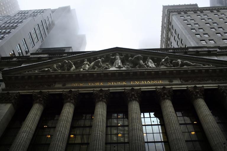 <p>The New York Stock Exchange Dec. 10, 2012 in New York City, New York.</p>