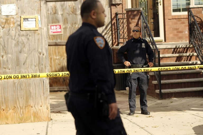 <p>Police say all three men were shot with a .22 caliber gun in their Brooklyn shops, all were elderly, and all were of Middle Eastern descent.</p>