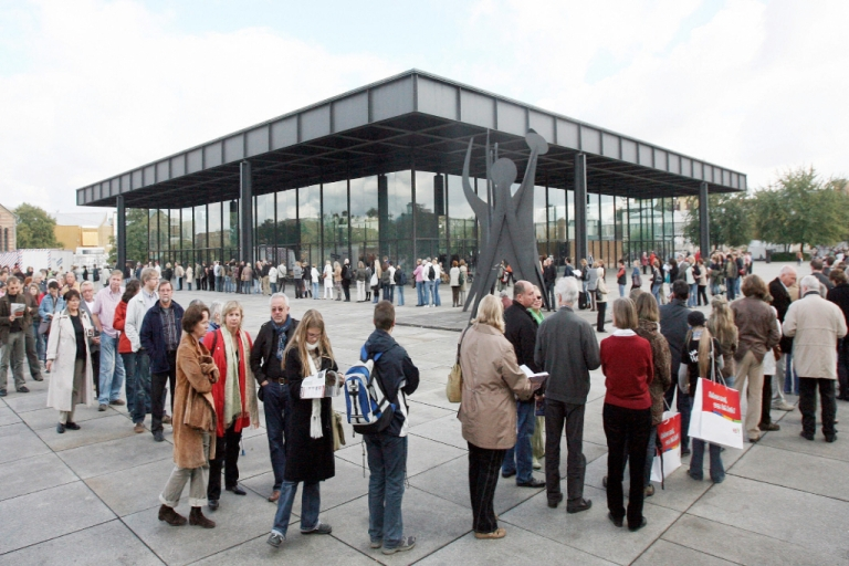 <p>Mies' final work: the Neue Nationalgalerie in Berlin, Germany.</p>