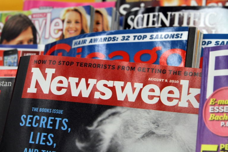 <p>Newsweek will eventually become an online-only publication, said IAC/InterActiveCorp chief Barry Diller on July 25, 2012.</p>