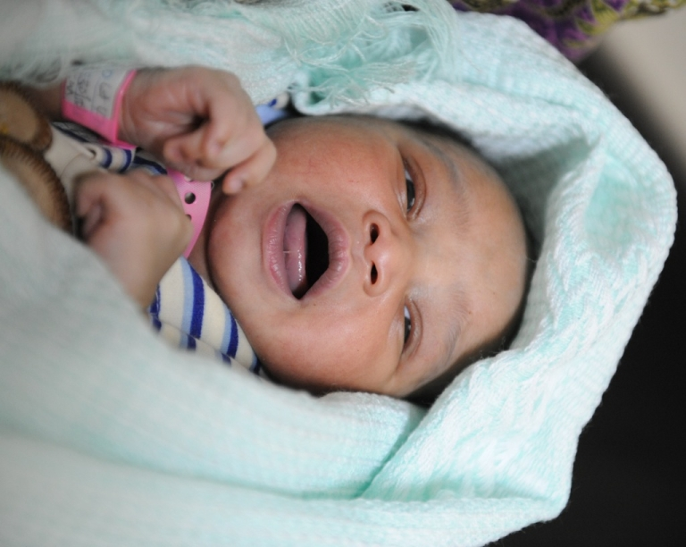 <p>The month-old baby was listed as a local government employee.</p>