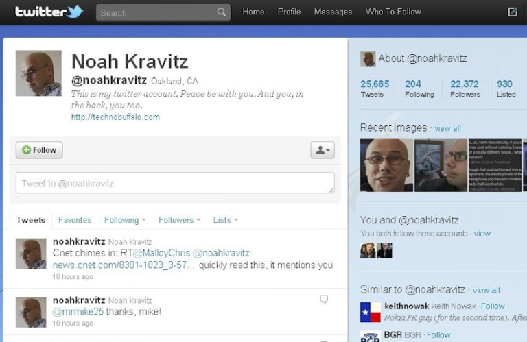 <p>Noah Kravitz is being sued for keeping his Twitter followers when he left his job at Phonedog, a US mobile news website.</p>