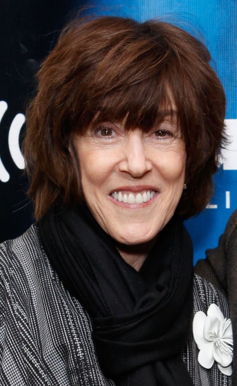 <p>Writer and director Nora Ephron  visits SiriusXM's 'The wowOwow Radio Show' at SiriusXM Studio on April 11, 2012 in New York City.</p>