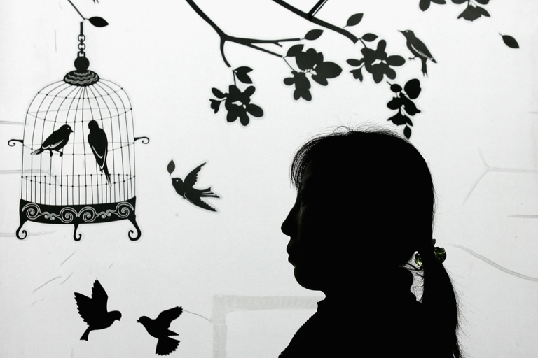 <p>A North Korean asylum seeker who is now an anti-North Korea activist is pictured at an office in Seoul, South Korea, on Feb. 14, 2009.</p>
