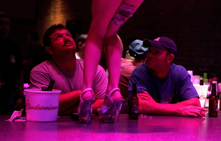 <p>Strippers in a North Dakota oil boomtown are making up to $2,000 a night.</p>