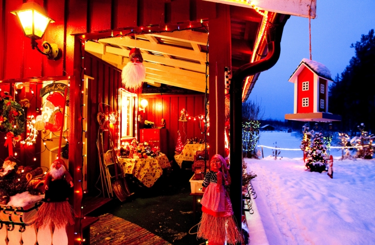 <p>Christmas has come to this house in central Norway. But an acute butter shortage has left some Norwegians fearing they won't be able to do their annual Christmas baking.</p>
