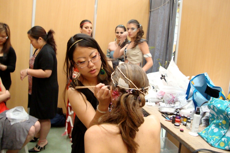 <p>After winning the CiteStyle prize for budding fashion designers, Nuchi Xiong was asked to present looks in a linen industry fashion show in Le Neubourg, France on June 5, 2011.</p>