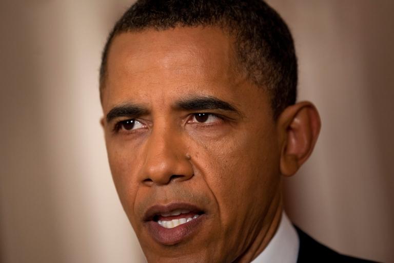 <p>U.S. President Barack Obama.</p>