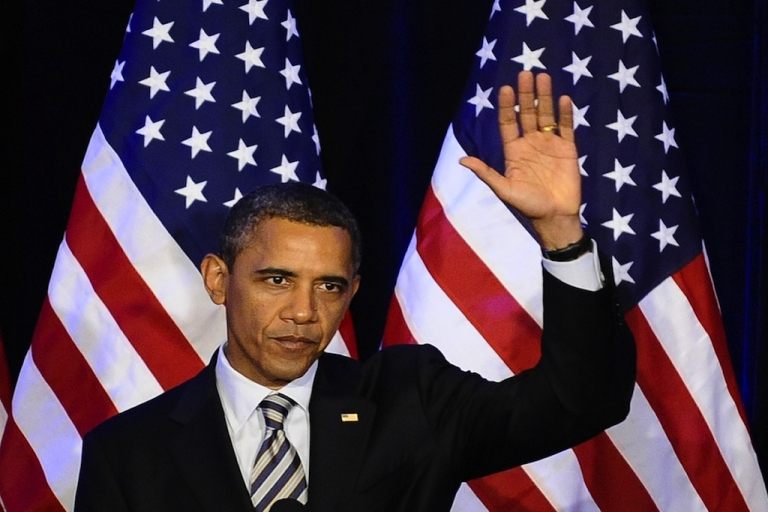 <p>President Barack Obama announced Wednesday a plan to ease the student loans burden for college graduates.  Here the president waves to his supporters during a campaign event in San Francisco, Calif., on Oct. 25, 2011.</p>