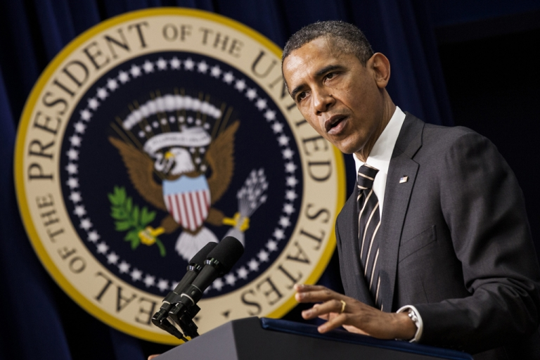 <p>President Barack Obama's comments on April 2, 2012 about the Supreme Court's decision in the health care law case sparked questions about the precedent set by Marbury v. Madison.</p>