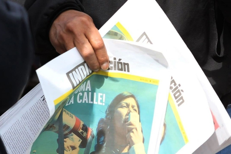 <p>Occupy Wall Street activists start a Spanish-language newspaper in New York to better reach immigrants that don't use social media.</p>