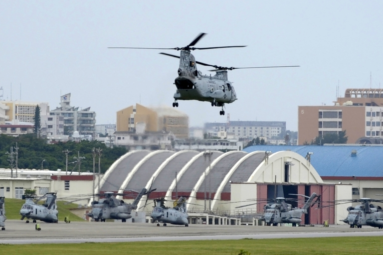 <p>The US and Japan have agreed to allow Marines to deploy before the relocation of the base.</p>