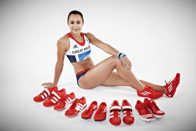 <p>Team GB athlete Jessica Ennis pictured in adidas Team GB London 2012 Olympic kit. Most of the money Olympic athletes receive comes from sponsorship.</p>