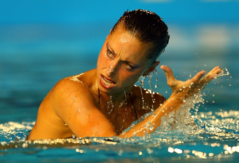 <p>Solo synchronized swimming? Really?</p>