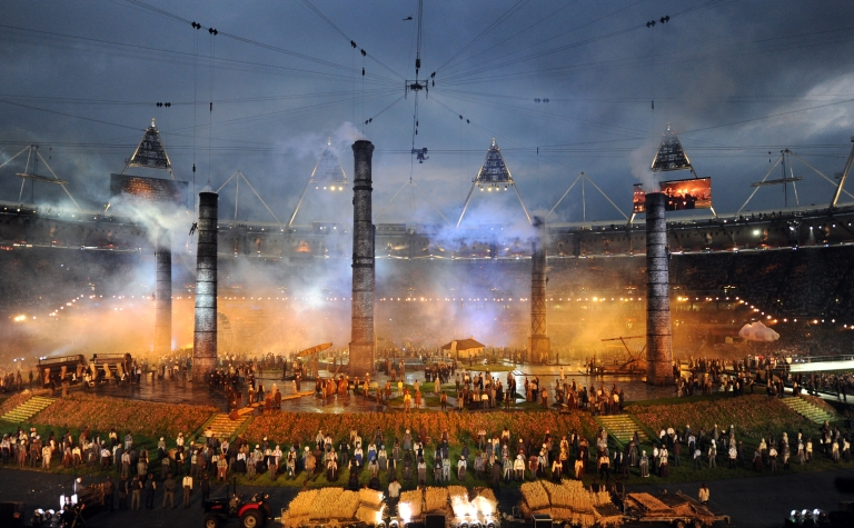 <p>Athletes, heads of state and dignitaries from around the world have gathered in the Olympic Stadium for the opening ceremony of the 30th Olympiad. London plays host to the 2012 Olympic Games which will see 26 sports contested by 10,500 athletes over 17 days of competition.</p>