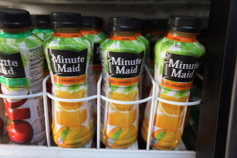 <p>The FDA detained shipments of orange juice from Brazil and Canada found to contain an illegal fungicide.</p>