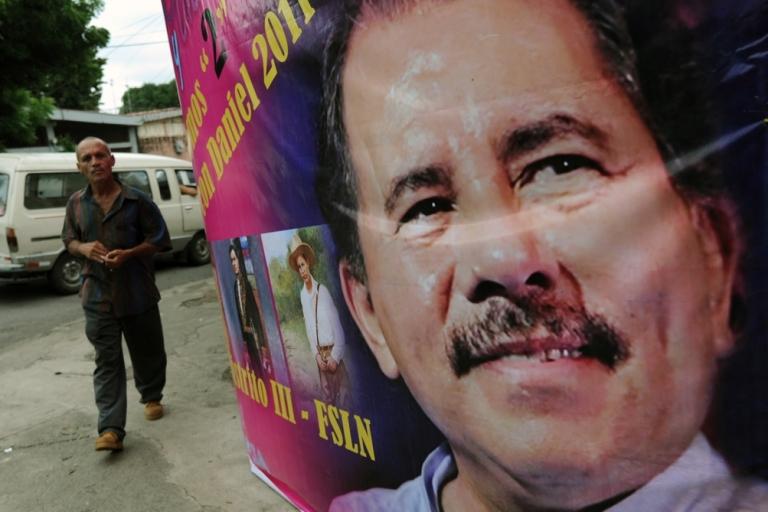 <p>The new face of President Ortega.</p>
