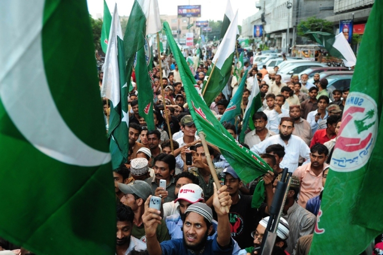<p>The U.S. media convienently ignore international events like these demonstrations in Pakistan.</p>