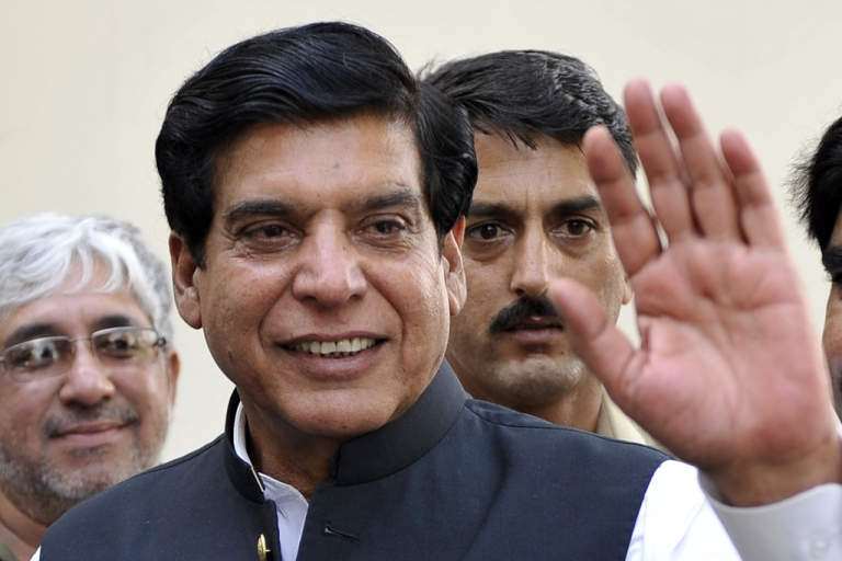 <p>Raja Pervaiz Ashraf, from the ruling Pakistan People's Party, was elected prime minister by Pakistan's parliament in Islamabad on June 22, 2102.</p>