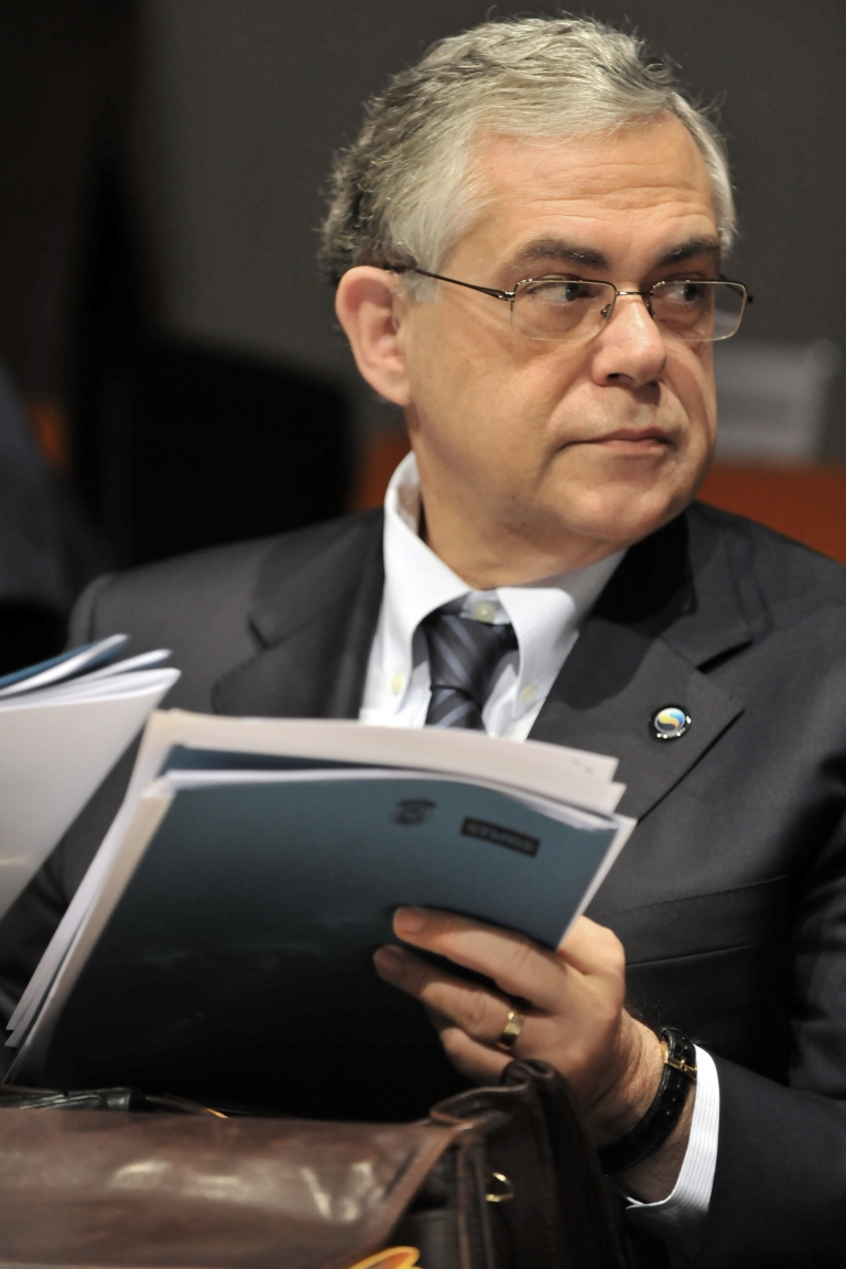 <p>European Central Bank VP Lucas Papademos will reportedly become the next Greek PM.</p>
