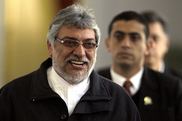 <p>Who's your daddy? Paraguayan President Fernando Lugo.</p>