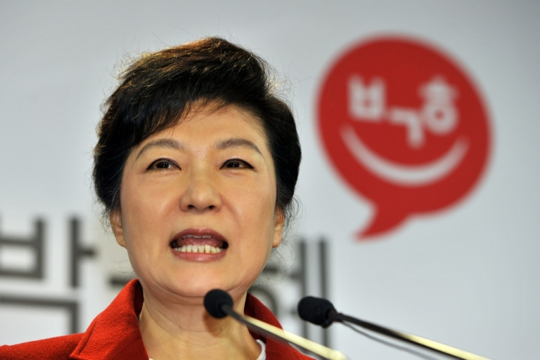 <p>Park Geun-hye is on course to becoming the first female president of South Korea on December 19, 2012, after a divisive and closely fought election.</p>