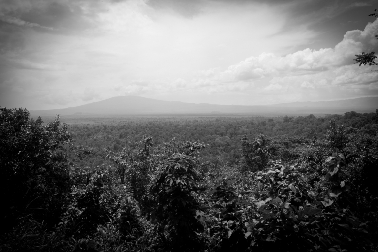 <p>View of the Virunga National Park from the the ranger headquarter in Rumangabo, Democratic Republic of Congo.</p>