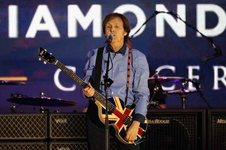 <p>Musician Sir Paul McCartney will receive the French legion of honor in Paris on September 8, 2012.</p>