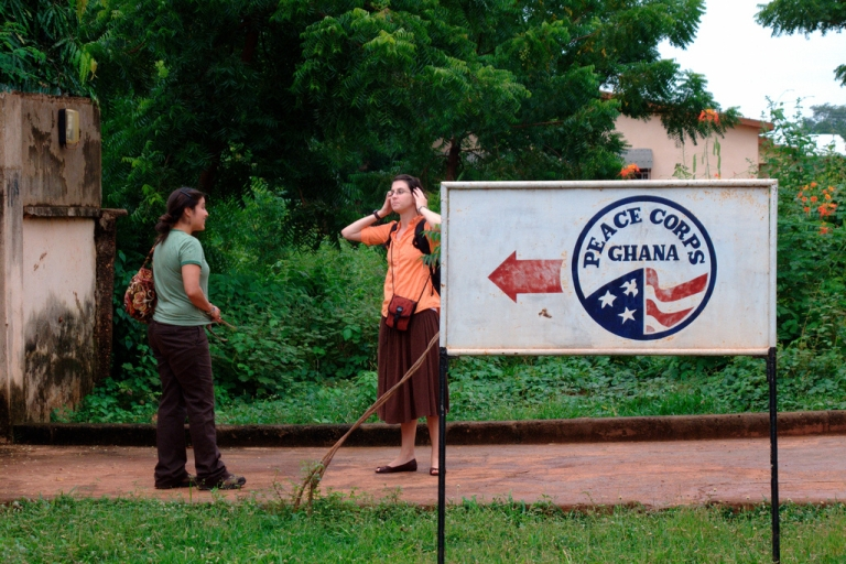 <p>The first trip sent 51 volunteers to Ghana in 1961. Today, Ghana continues to be a destination for Peace Corps.</p>