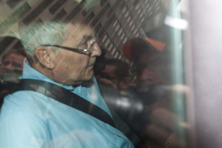 <p>Peter Madoff, brother of the infamous financial criminal Bernard Madoff, is driven out of Jacob K. Javits Federal Building after being taken in to custody by the FBI on June 29, 2012 in New York City.</p>