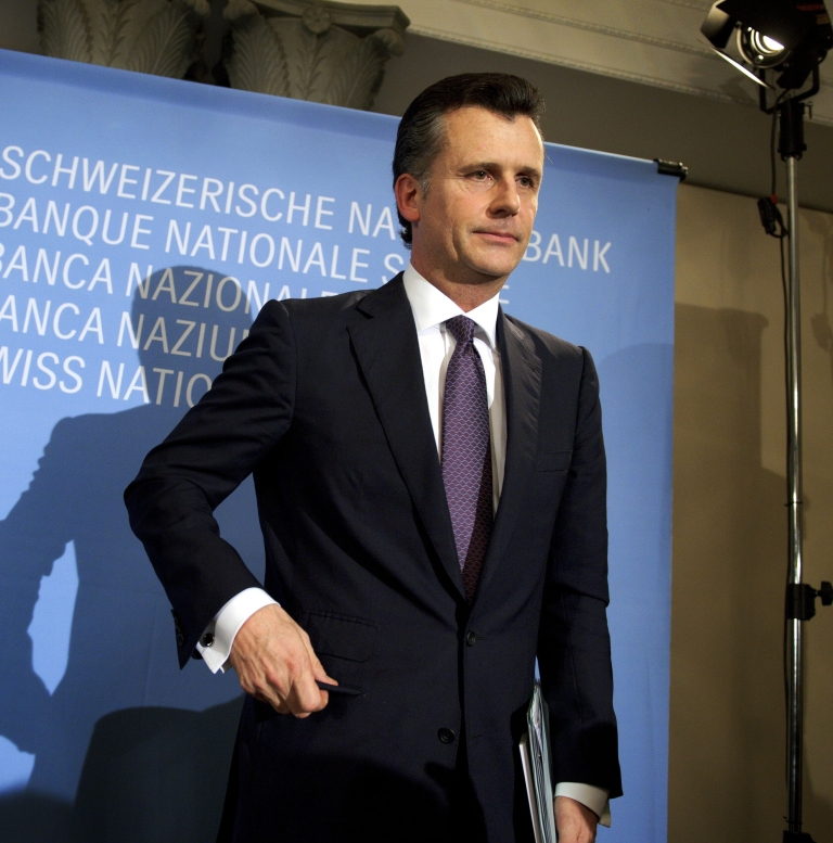 <p>Mr Hildebrand has been accused of speculating on currency transactions only weeks before his central bank capped the Swiss Franc, shifting prices in his favor.</p>