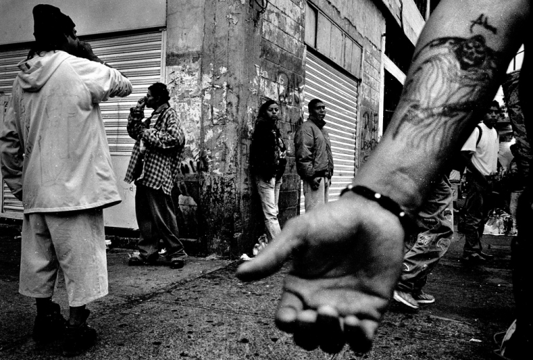 <p>Drug abusers huff glue and inhalants while dealers ply their trade on the streets of Tepito, Mexico City&#039;s toughest neighborhood. Drug cartels now control Tepito.</p>