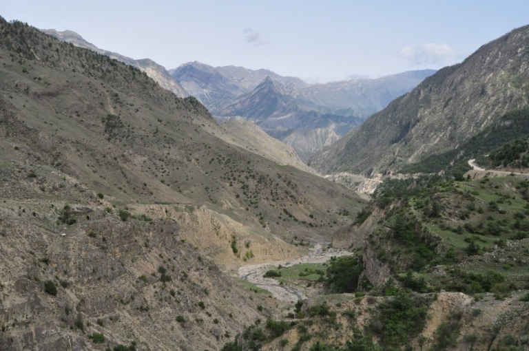 <p>The Caucasus regions of Dagestan and Chechnya are home to dozens of ethnic groups, as well as a persistent Islamic insurgency. (Sergei Rasulov/News Team/GlobalPost)</p>
