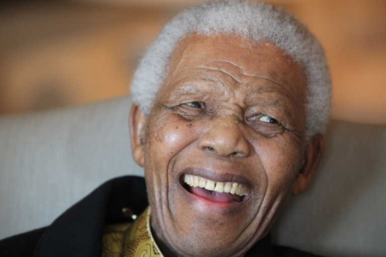 <p>This photograph of Nelson Mandela was released by the Mandela Foundation on the eve of his 92nd birthday. Mandela made a rare television appearance on May 30, 2012, while celebrating the African National Congress' centenary. (Debbie Yazbek/Nelson Mandela Foundation)</p>