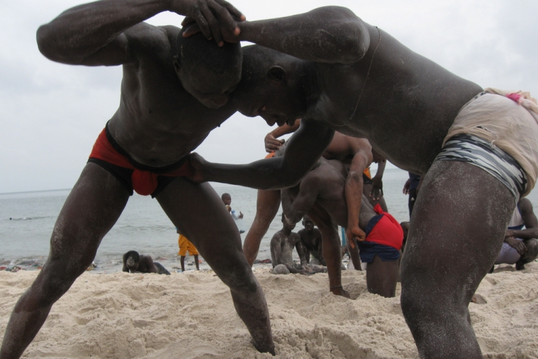 <p>Senegal&#039;s Laamb wrestling is a tradition that goes back centuries. The sport is the national pastime of Senegal&#039;s youth: 42 percent of Senegal&#039;s population is 14 or younger.</p>