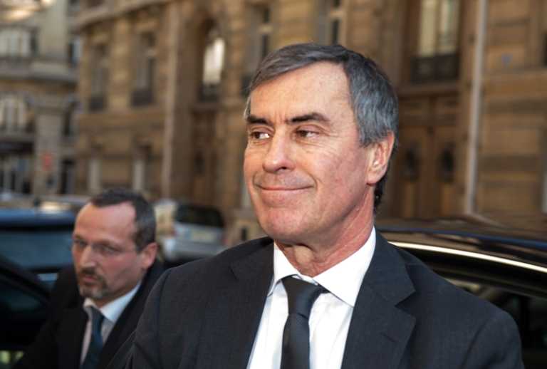 <p>French former Budget minister Jerome Cahuzac arrives at the financial pole in Paris, on April 2, 2013. Cahuzac, who resigned on March 19, was being heard by investigating judges on April 2, 2013.</p>
