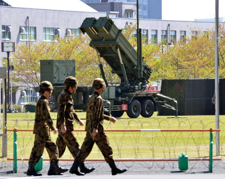 <p>North Korea warned Japan that it would be the first target if a regional war broke out.</p>