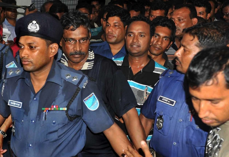 <p>Mohammed Sohel Rana, the owner of the Bangladesh building that collapsed last week and left hundreds dead, has been arrested.</p>