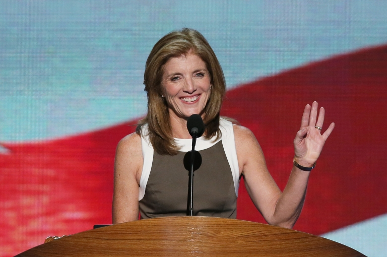 <p>Caroline Kennedy during the final day of the Democratic National Convention at Time Warner Cable Arena on September 6, 2012 in Charlotte, North Carolina.</p>